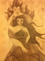 Hades and Eris by XSlytherinxPrincessX