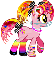 Oshare Kei Pony Adoptable CLOSED by YukiAdoptablesPonies