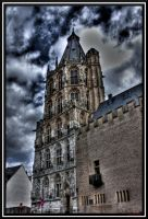 Tower of historic town-hall by andreasbf