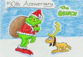 How The Grinch Stole Christmas 50th Anniversary by IrishBecky