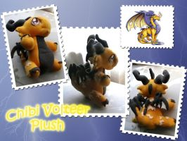 Volteer Plush by DragonCid