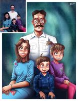 Family portrait by sirhcsellor