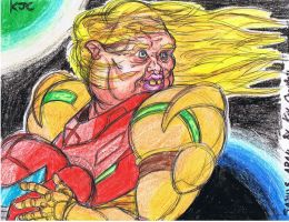 Metroid Samus Aran fan art by NM8R-KJC