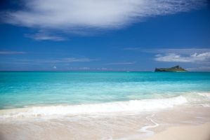 Waimanalo Beach, Hawaii by ralfkaiser