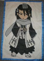 Byakuya Cross Stitch by MichiruKaminari