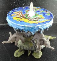 The Disc carried on Great A'tuin rear by gmfate