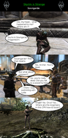 Skyrim is Strange - Sovngarde by HelloMyNameIsEd