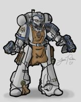 Space Marine by S2pidPants
