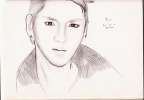 Kris Exo-M (Idol FanArt 4) by YellNonsense