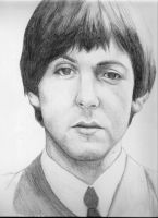 Paul McCartney- The Beatles by Michi1223