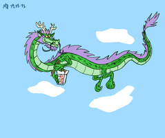 Asian Dragon by Mara999