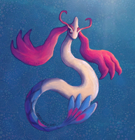 Milotic by Odettery