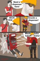 TF2: Need A Dispenser Here by cityinthehead