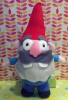 Gravity Falls Schmebulock Gnome Plush by SowCrazy