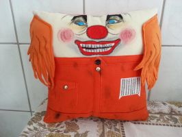Handmade Slipknot Shawn Crahan Plush Pillow by RbitencourtUSA