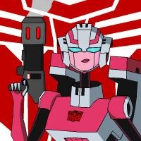 Animated Arcee by Hacker-Warrior