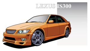 Lexus IS300 by taw