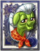 Granny Smith by harwicks-art