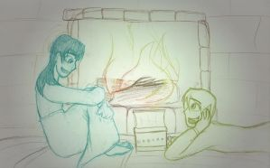 DbD: 58: By the Fireplace by DisneyPhantomlover