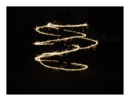 Slow Shutter: Sparkler by bills2020