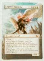 Angel of Serenity - MtG Alter by closetvictorian