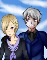 Prussia and Norway -collab- by Tirachi