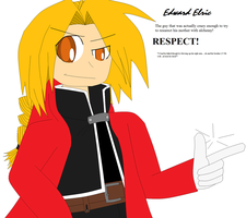 Edward Elric Fullmetal Alchemist Art Trade by DaxterBoyAwesome