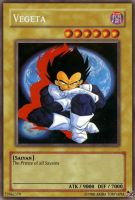 Vegeta Card by AshuraTheHedgehog199