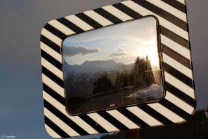 Reflective Mountain View by Poser1005