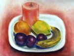Pastel still life by Just-a-Witness