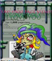 1000 Views I love you by vireo