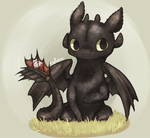 Toothless by Cylniette