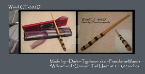 HarryPotter-style wand CT-393D by dark--typhoon