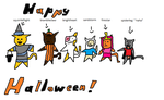 warriors halloween by kittykatcarly