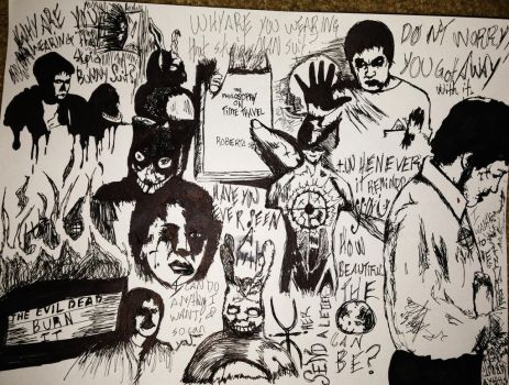 Donnie Darko sheet 2 by zombis-cannibal