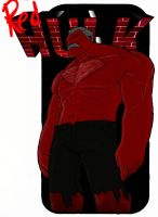 Red Hulk by JLZ74