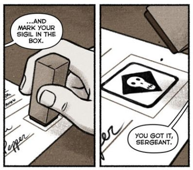 Mark Your Sigil preview by steverolston
