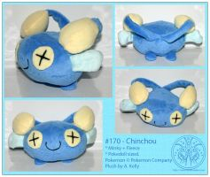 Plush - Chinchou by RadiantGlyph