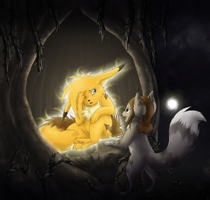 +A light in the Darkness+ by min-mew