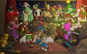 Christmas collision 2010 by Retromissile