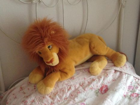 Large Mufasa Plush by Nala1994