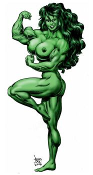 Okay, it IS She-Hulk by DavidCMatthews