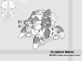 Guardian Drone by Creator350