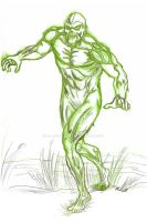 Swamp Thing by AlanSchell