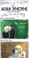 Kiss Meme with Riza and Roy by Werehorse89