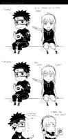 COMIC: Obito in trouble by SkyGiratina00