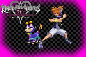 Kingdom Hearts 3D wallpaper: Neku by AzuraJae