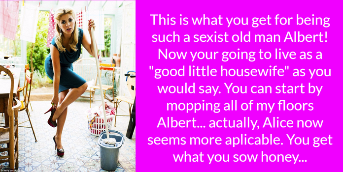 Sexist Old Man by SexyTgCaps