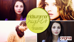 Midsummer Nights Psd Coloring by meroro2