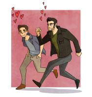 Teen Wolf - Idiots in love by Youko-Shirokiba